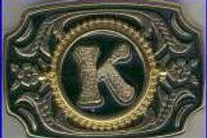 LETTER K BUCKLE RCW231GK