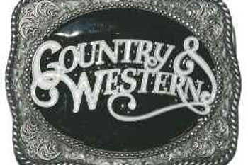 Country and Western Buckle dd769