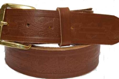 Biker Belt Brown 1.5 inch 38mm