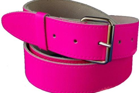 Plain Pink Hi Viz Belt Strip 1.5 Inch 38mm