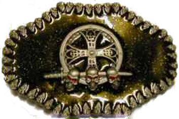 Celtic Skulls Buckle bk1091