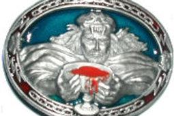 Devil Worship Buckle CJ1533