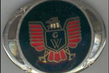 GOLDWING SILVER BUCKLE GW SILVER