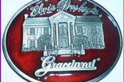 ELVIS GRACELAND HOUSE BUCKLE EP0489