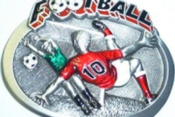 FOOTBALL BUCKLE DD130RED