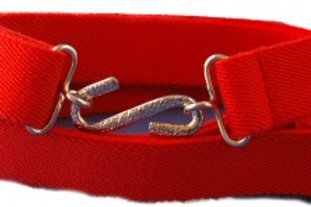 Adults Elasticated Belt Red