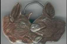 PIG BELT BUCKLE gtD742