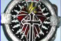 Swords on Cross Buckle ddsp6