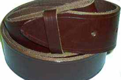 Rustic Brown Leather Belt 38mm