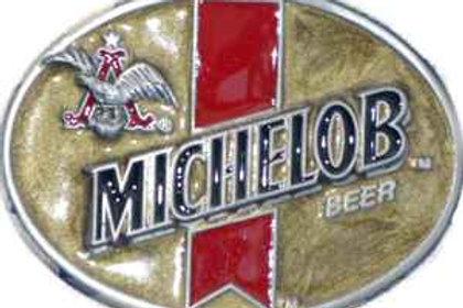 MICHELOB BEER BUCKLE BA320