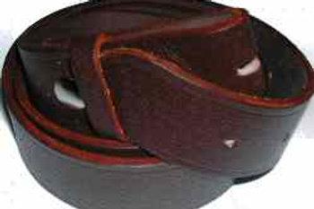 Dark Brown Pig Print Belt