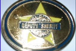 TEXAS STAR DEPUTY SHERIFF BUCKLE EB2339