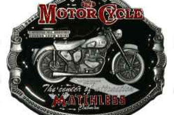 Matchless Motorcycle Buckle dd837