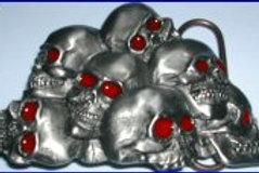 Skulls Buckle q8