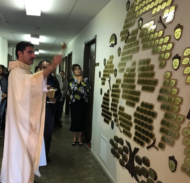 blessing of the tree of life, November 2