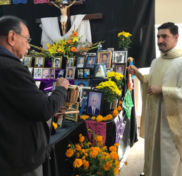 blessing of hte altar of the dead, Novem
