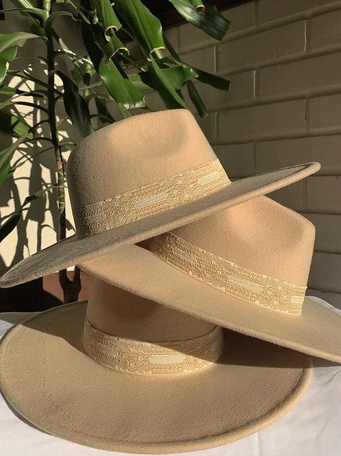 Latte Ribbon Hat