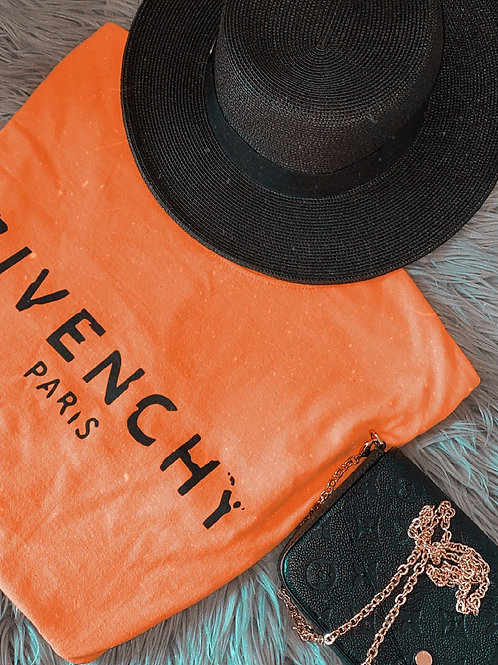 Givenchy Tee - Orange