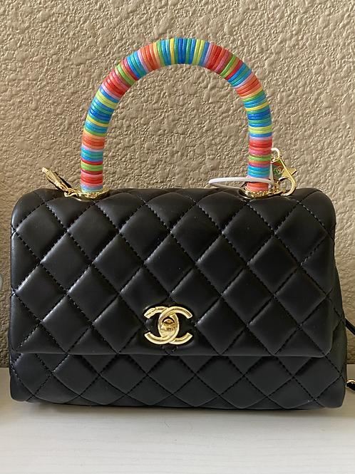 CC Rainbow Handbag/Shoulder Bag