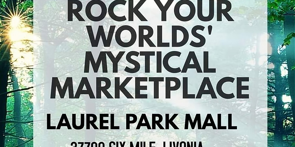 Rock Your World Mystical Marketplace Pop Up Store