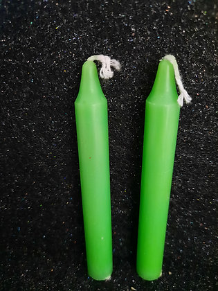 Green Candle Sticks
