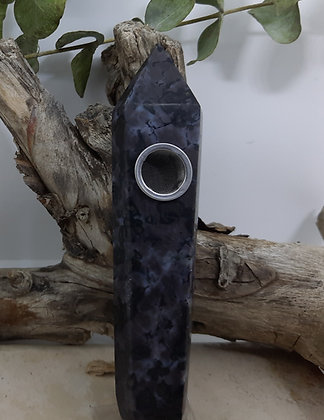 Astrophyllite Crystal Pointed Pipe