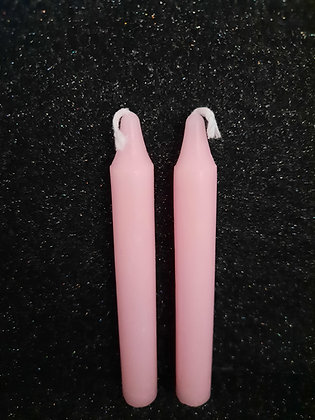 Pink Candle Sticks