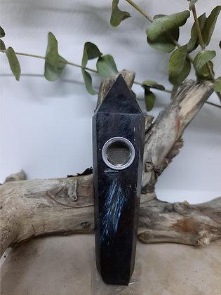 Labadorite Crystal Pointed Pipe