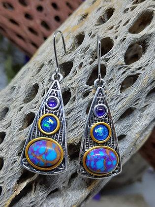 Bohemian Baby Blues Earrings