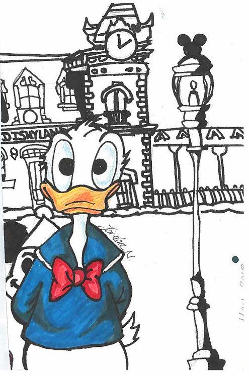 Donald Duck Artwork