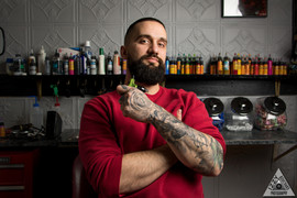 Garreth Brown, Owner of True North Tattoos