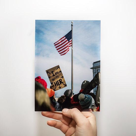 Women's March Print