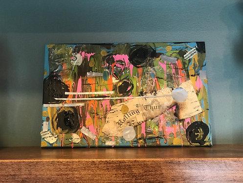 """PaperBoy"" Student Original Artwork"