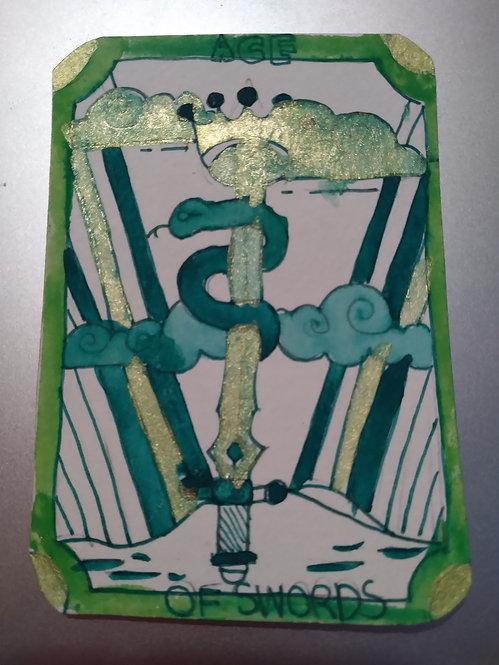 Set of 6 Rainbow Tarot Card #3