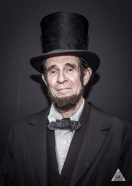 Abe Lincoln, Reenactor
