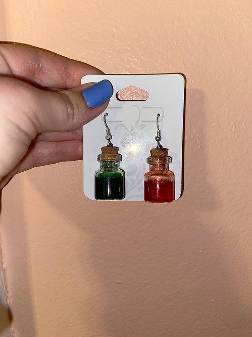 Earrings by Aggie!