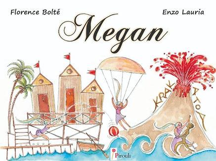 Megan livre jeunesse PIROULI
