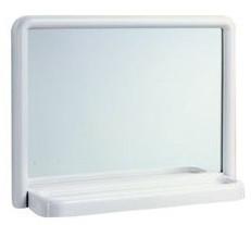 Specchio da bagno con mensola cm 46x35