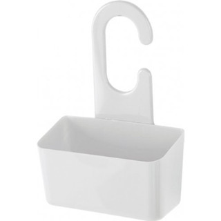 Cestino porta oggetti da doccia bianco