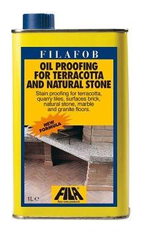 FILAFOB, Protettivo antimacchia per pavimenti in cotto, clinker,marmo, pietre,granito, agglomerati,cemento