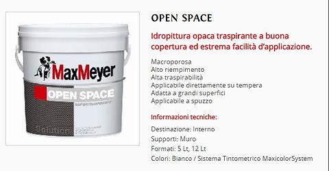 Idropittura Murale MaxMeyer Traspirante,Opaca,Open Space, Offerta Speciale € 22.50