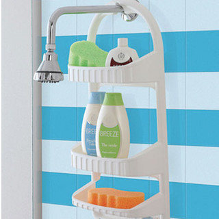 Mensola 3 ripiani per doccia