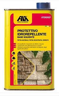 FILA HYDROREP, Protettivo ad effetto invisibile per interni ed esterni in pietra naturale e cemento