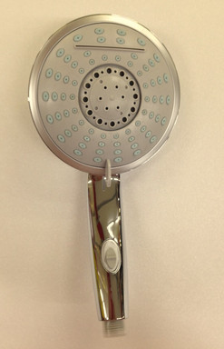 telefono doccia cascade 3 getti regolabili effetto cascata