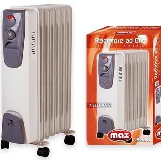 radiatore ad olio max