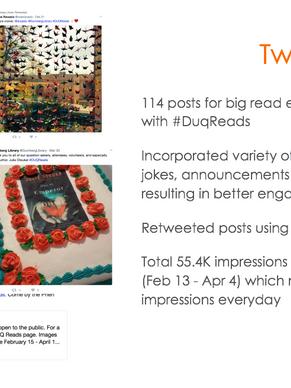 Slide for Twitter social media engagement