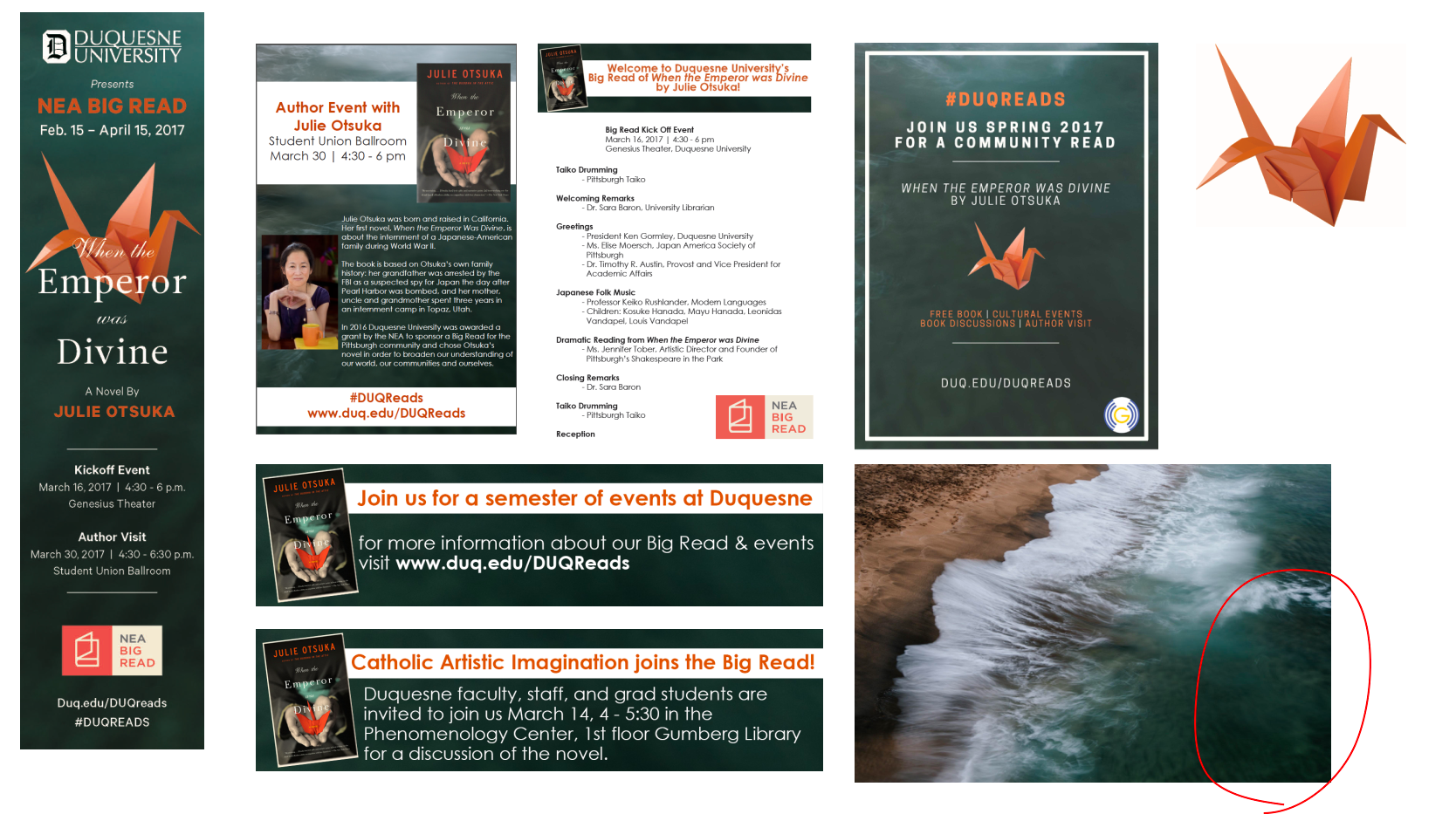 Promotional design for campaign