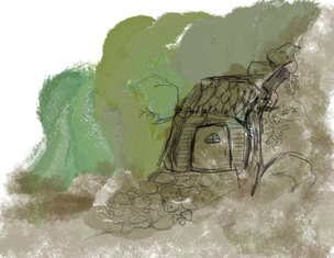 Druid hut