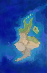 Finished island work