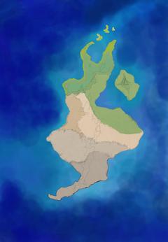 Island sketch work